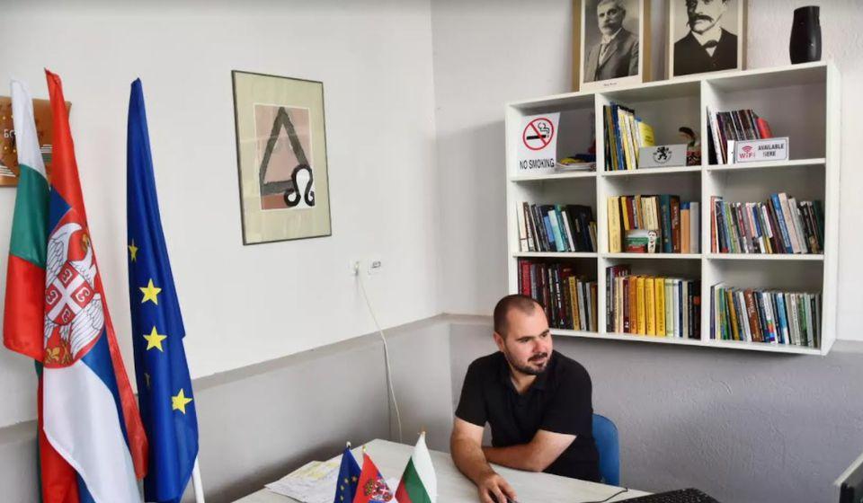 Predsednik Bugarsko-srpskog centra Darko Anačkov. Foto BSC