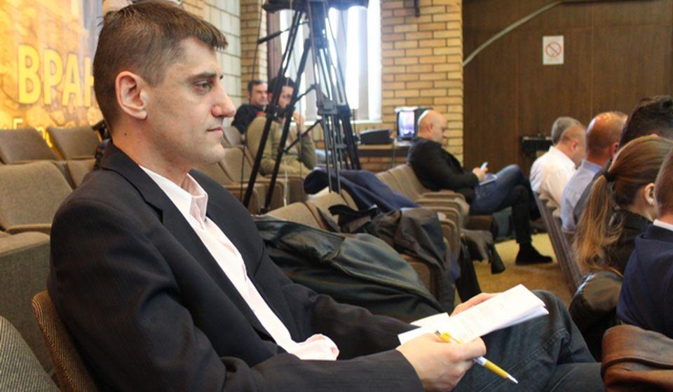 Dušan Mladenović. Foto VranjeNews