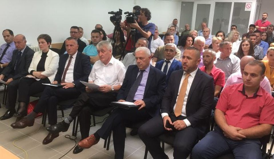 Skupština svih albanskih odbornika iz Preševa, Medveđe i Bujanovca. Foto Bujanovačke
