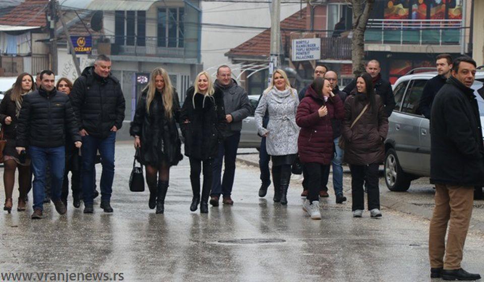 Lokalne snage Srpske desnice. Foto VranjeNews