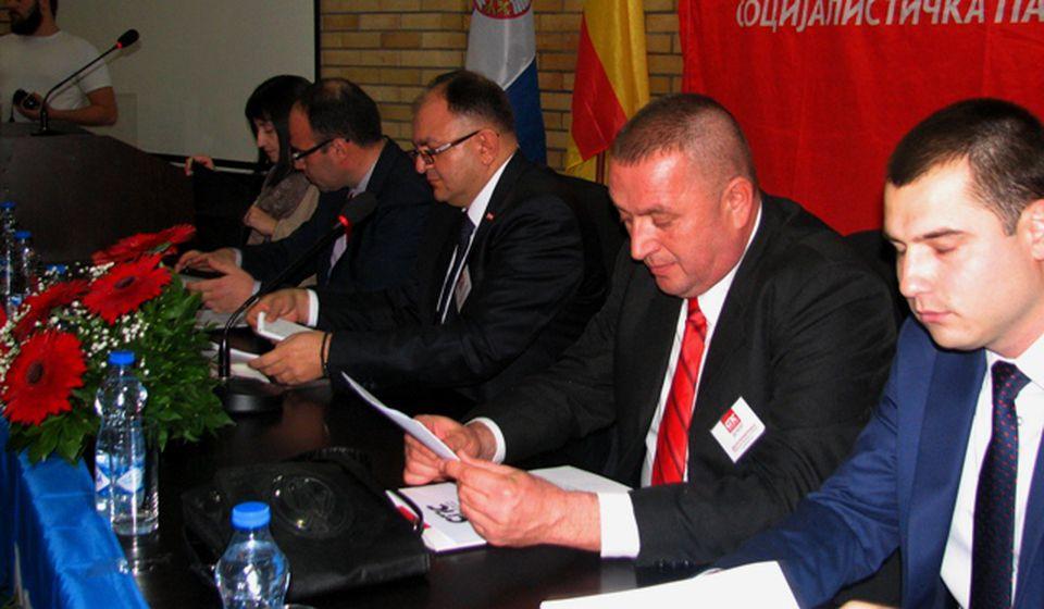 Radno predsedništvo. Foto VranjeNews