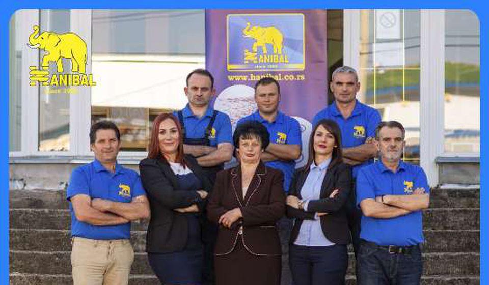Sa saradnicima iz Hanibala. Foto Hanibal