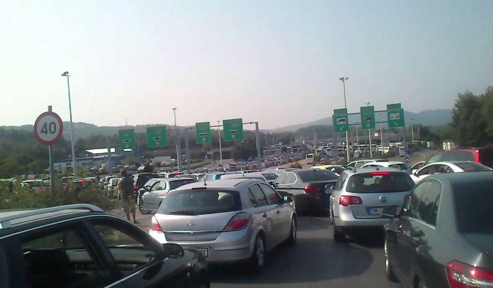 Granični prelaz Evzoni. Screenshot Youtube