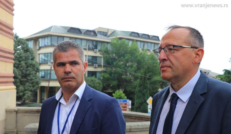 Dušan Aritonović (levo) i Stojan Ilić. Foto Vranje News