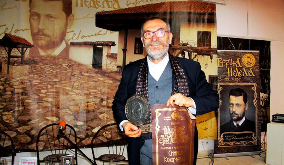 Stanković je na vrhu srpskog četvorolista pisaca: Siniša Kovačević. Foto VranjeNews