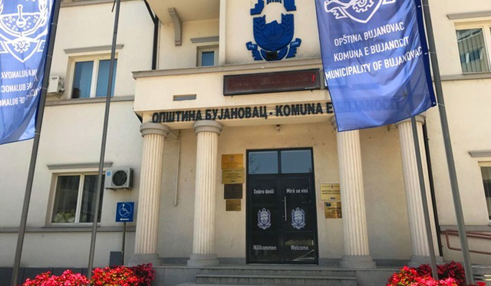 Odavde se zahteva reciprocitet: zgrada opštine Bujanovac. Foto VranjeNews