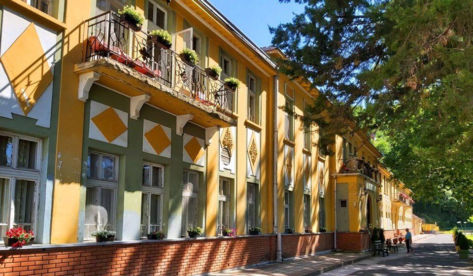 Specijalna bolnica letos, u jeku pandemije. Foto Vranje News