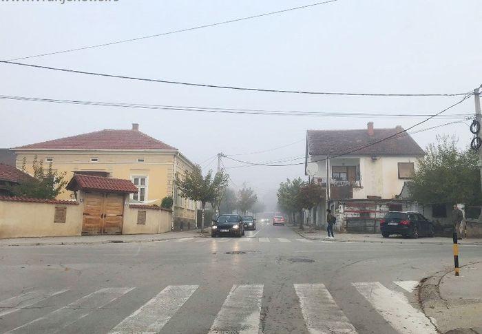 Vranje jutros. Foto Vranje News