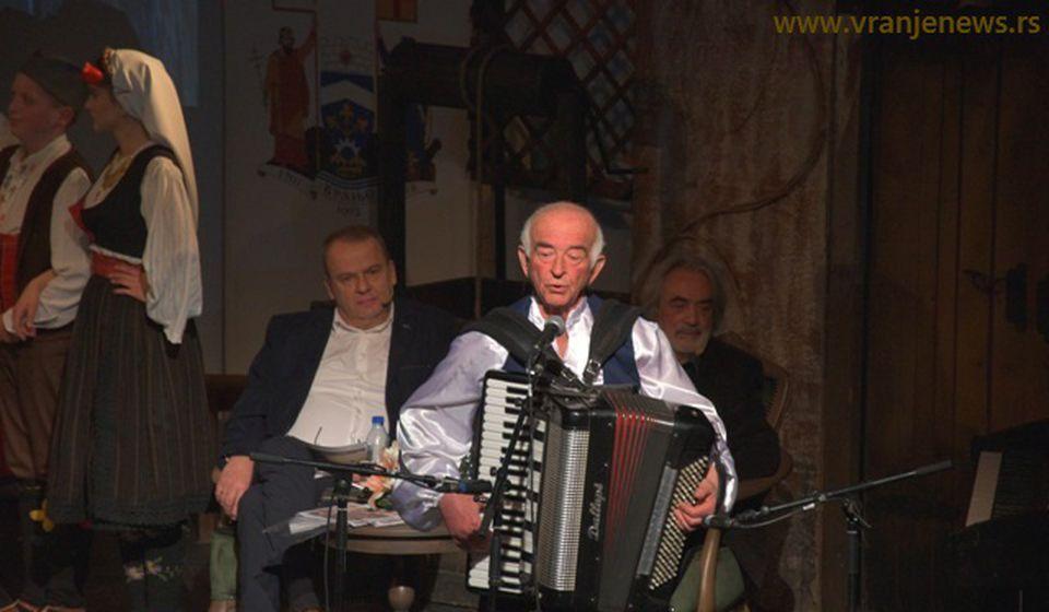 Slobodan Jovanović na otvaranju ovogodišnjeg festivala. Foto Vranje News