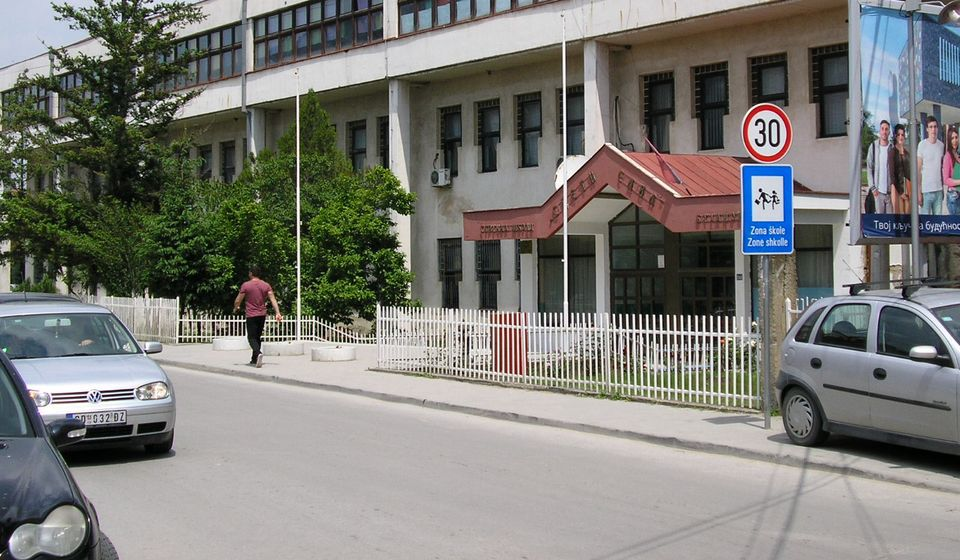 Srednja stručna škola Sveti Sava. Foto VranjeNews