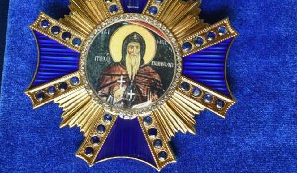 Orden patrijarhu dodeljen na predloga vladike Pahomija. Foto Eparhija vranjska