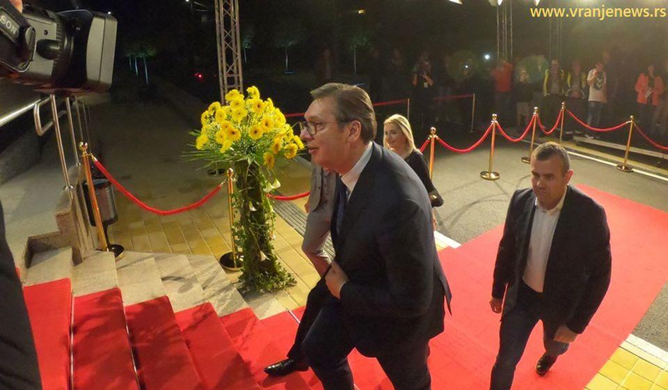 Aleksandar Vučić. Foto Vranje News