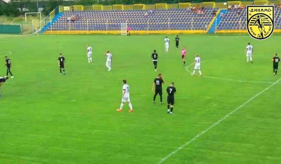 Detalj sa utakmice Dinamo - Radnički Pirot. Foto FK Dinamo
