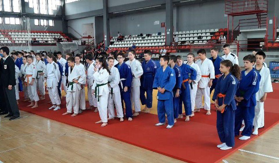 Sa takmičenja u Nišu proteklog vikenda. Foto Džudo klub Vranje
