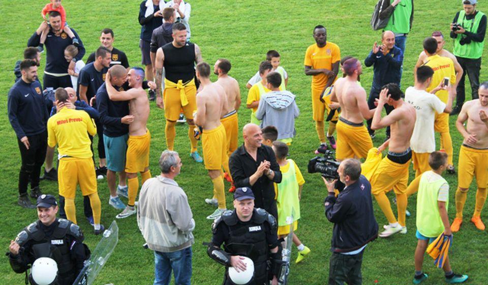 Hoće li šampioni Prve lige zaigrati u najelitnijem takmičenju: fudbaleri vranjskog Dinama. Foto VranjeNews