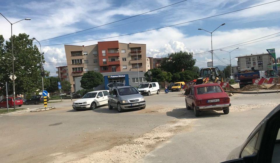 Ovde će se u sredu i četvrtak obavljati radovi na rekonstrukciji vodovodne mreže. Foto Vranje News