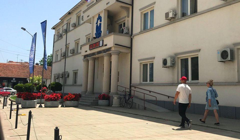 Poprište detonacija iz 2000: zgrada SO Bujanovac. Foto Vranje News