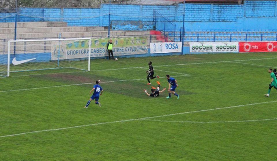 Detalj sa poslednjeg meča Dinama i Radnika. Foto VranjeNews