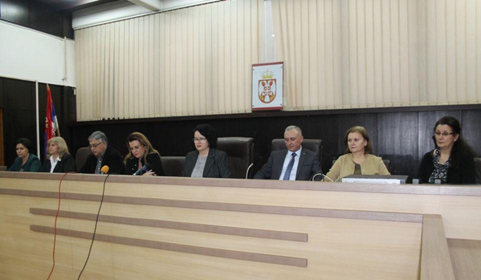 Sudije Višeg suda u Vranju. Foto VranjeNews