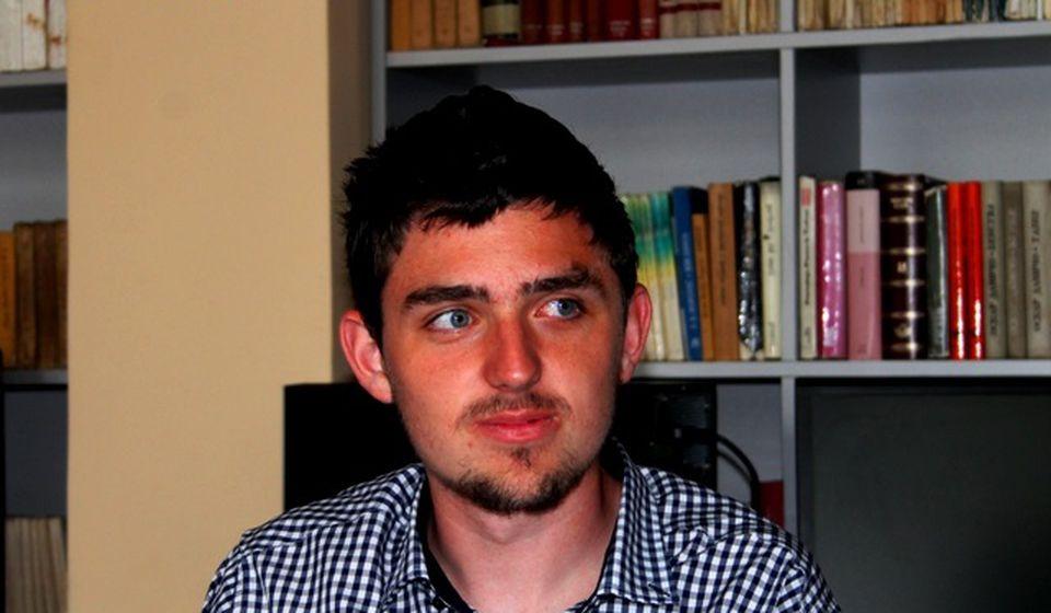 Prvi na nacionalnoj i drugi na Internacionalnoj geografskoj olimpijadi: Miša Stanković. Foto VranjeNews