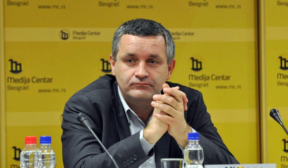 Miodrag Linta. Foto Medija centar Beograd
