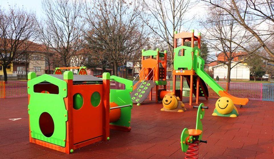 Dečje igralište u MZ Četvrti juli. Foto Vranje News