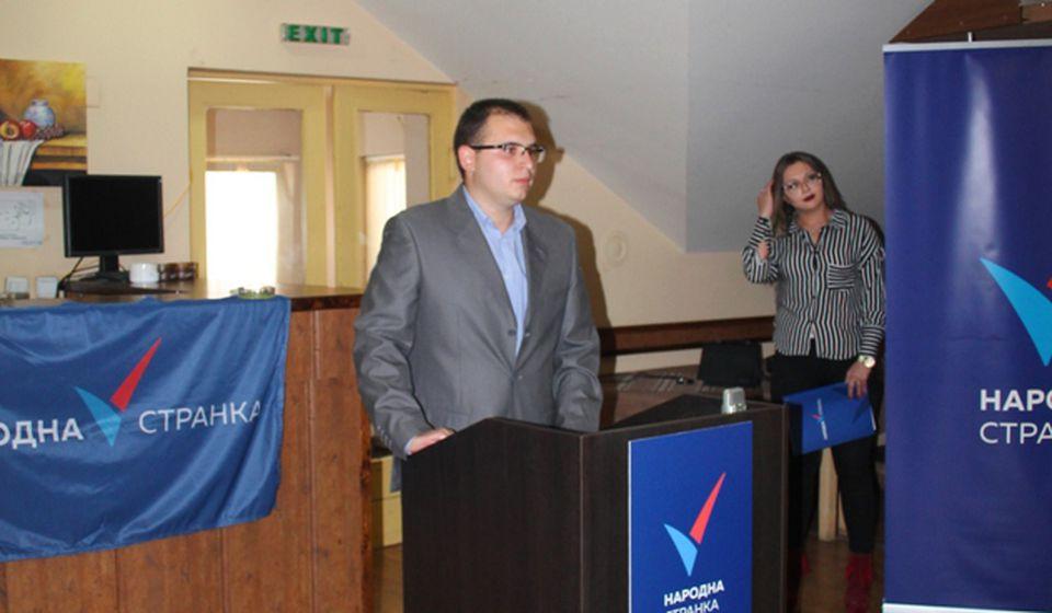 Vranjski lider NS Đorđe Ristić. Foto VranjeNews