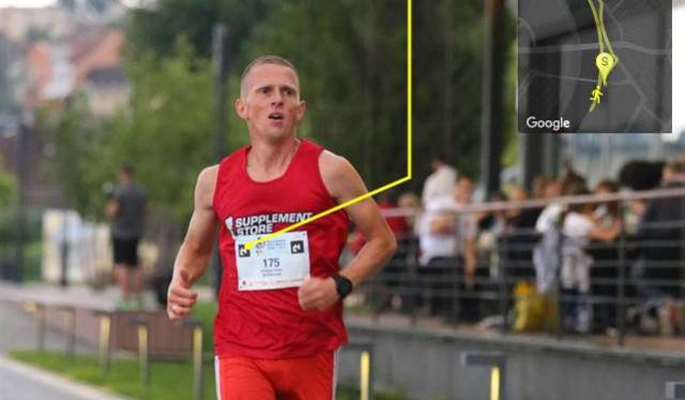 Kristijan Stošić. Foto AK Vranjski maratonci