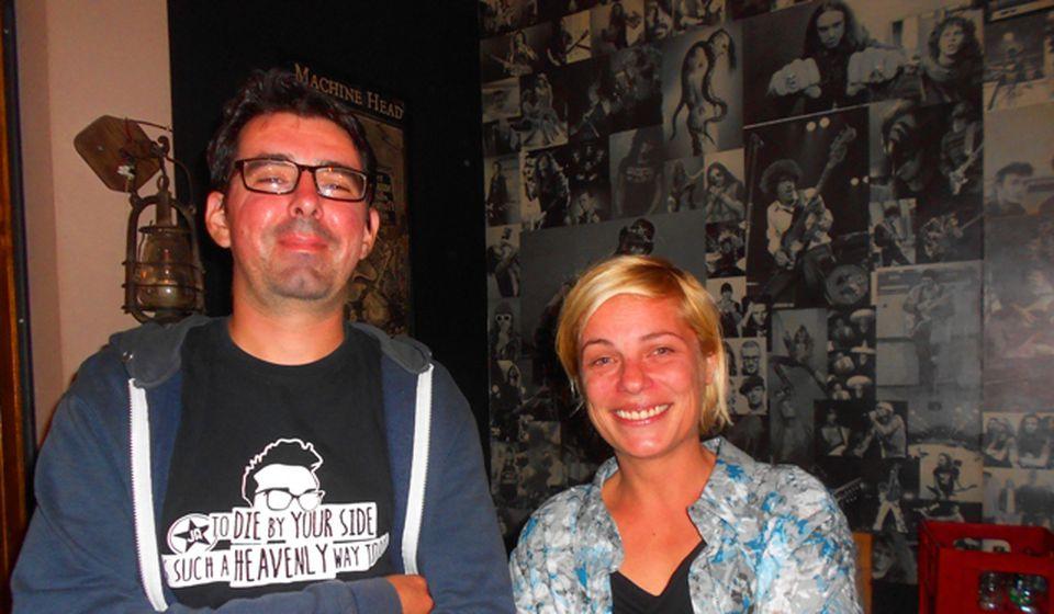 Inicijatori: Ivana i Miloš. Foto VranjeNews