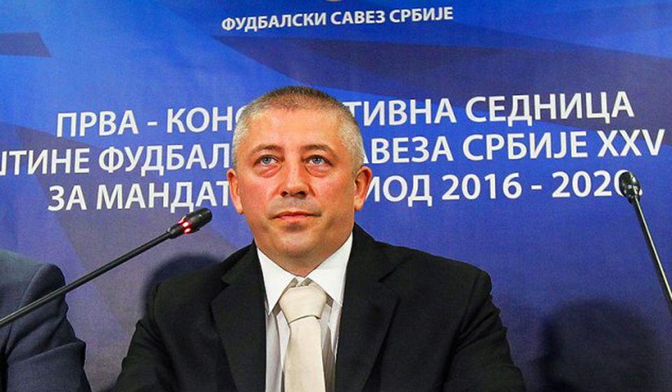 Slaviša Kokeza. Foto FSS