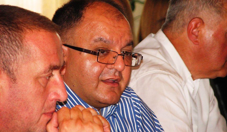 Ne vidim da SPS gubi identitet: Zoran Antić sa najbližim saradnicima. Foto VranjeNews