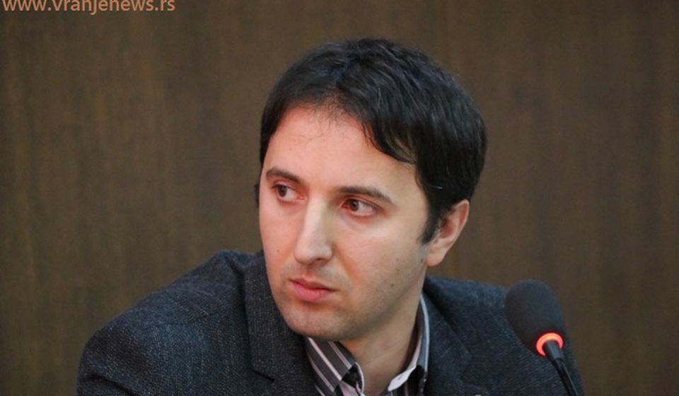 Bojan Kostić. Foto Vranje News