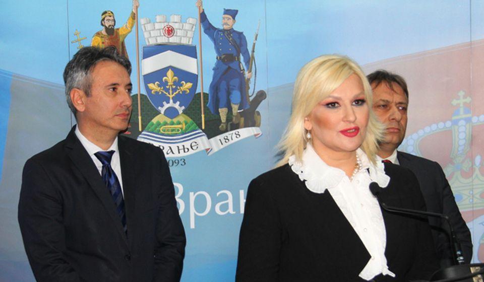 Zorana Mihajlović. Foto VranjeNews