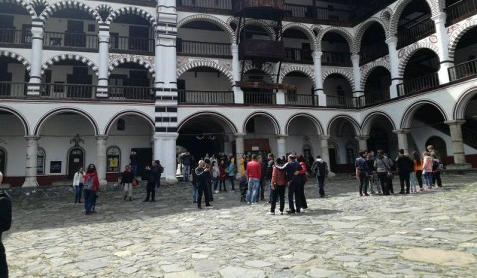 Unutrašnji mir: Rilski manastir. Foto BSC