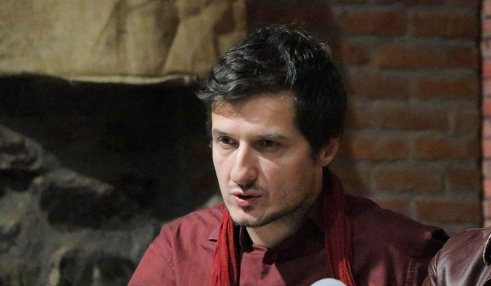 Bojan Jovanović prisustvovao sastanku u ime vranjskog teatra. Foto Vranje News