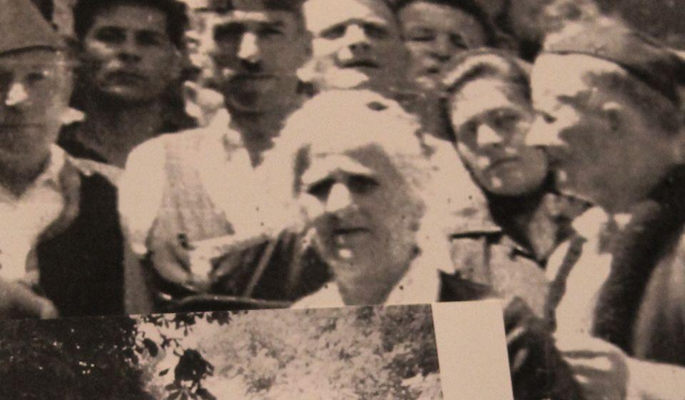 Stana Avramović Karaminga. Foto Vranje News, scena iz filma o poznatoj pesmopojki.