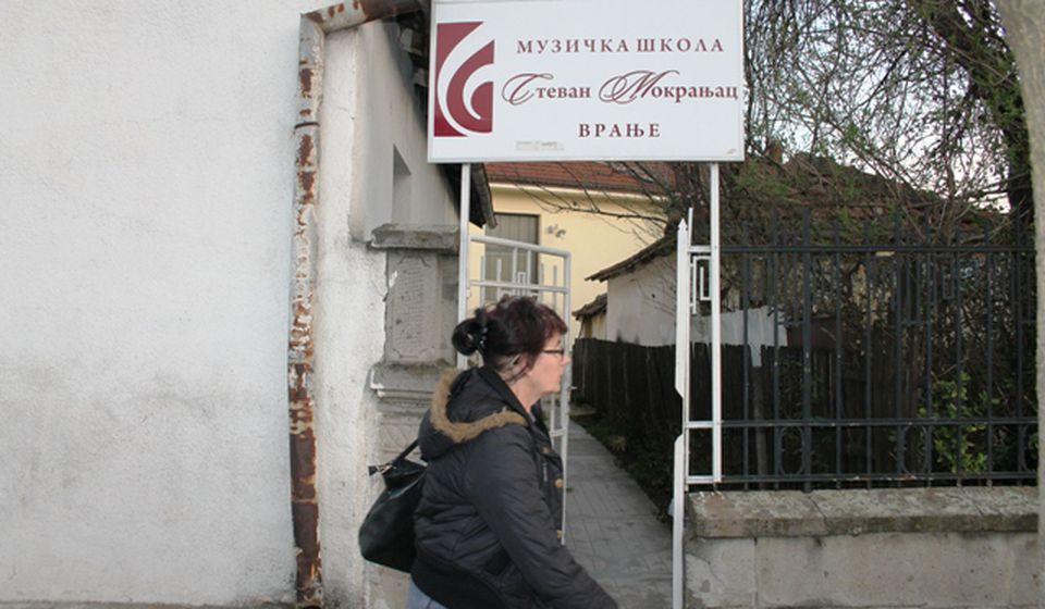 Muzička škola Stevan Mokranjac u Vranju. Foto VranjeNews