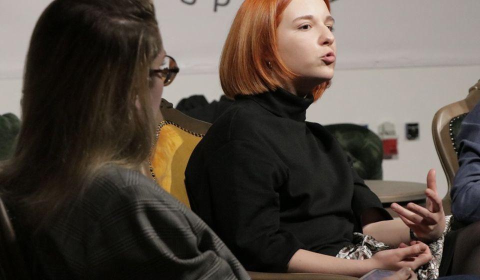 Dobitnica Nagrade Politikinog zabavnika: Aleksandra Jovanović. Foto Vranje News