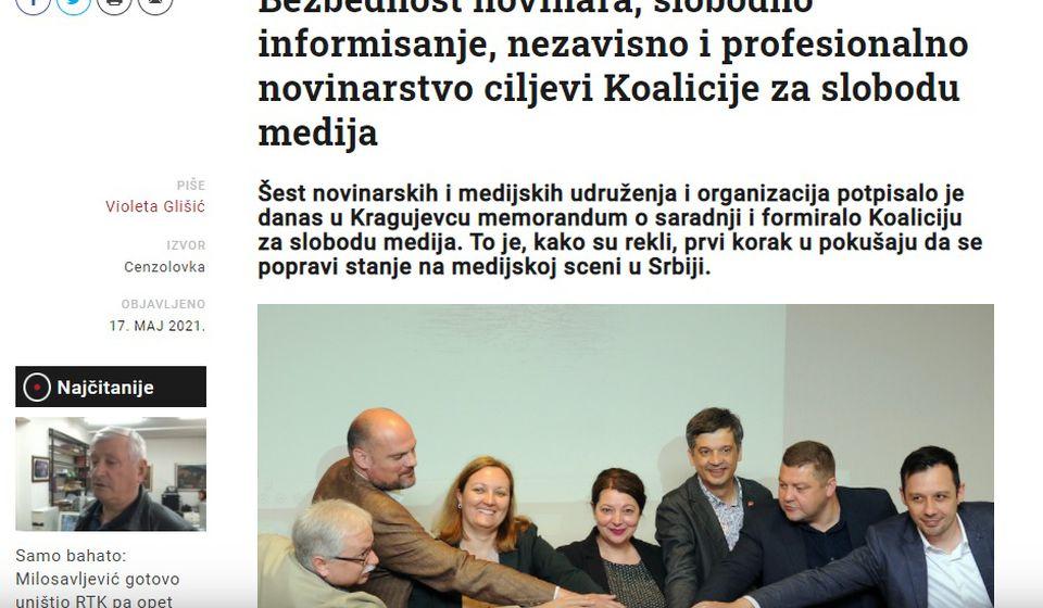 Foto printscreen Cenzolovka