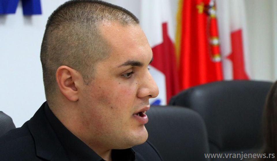 Stefan Filipović. Foto Vranje News