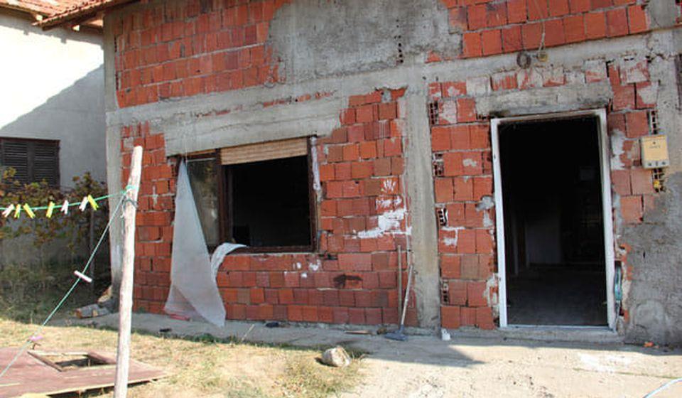 Kuća u kojoj žive Spasići. Foto Fejsbuk