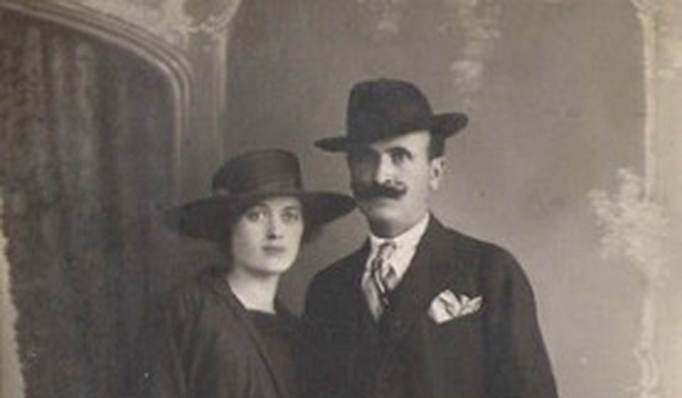 Ljubica i Milan Tasić (Mile Pile). Foto Fejsbuk