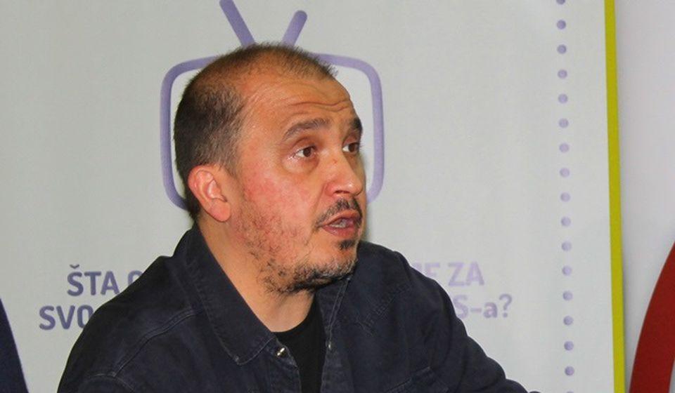 Analogija s Bujanovcem: urednik Bujanovačkih Nikola Lazić. Foto Vranje News