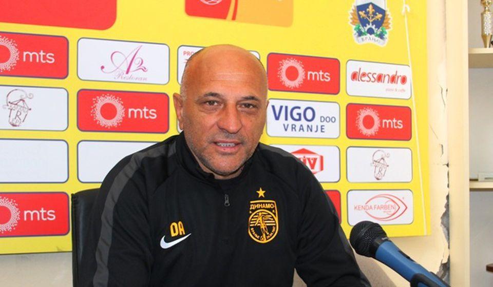 Bili smo bolji za taj jedan gol: Dragan Antić. Foto VranjeNews