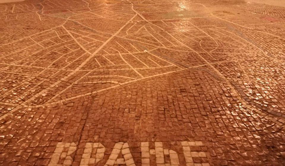 Mapa u vreme oštećenja. Foto Vranje News
