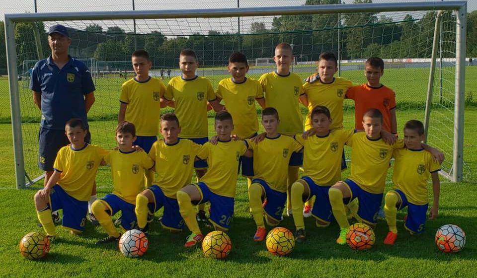 Dinamovi petlići u Augsburgu. Foto privatna arhiva