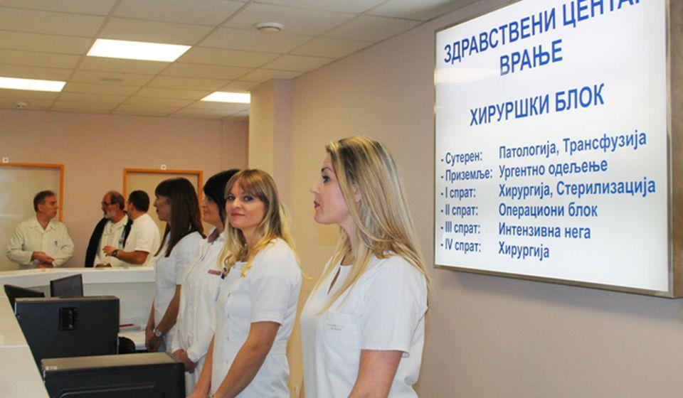 Služba PTO radiće u novom Hirurškom bloku. Foto VranjeNews