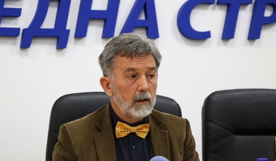 Paraf na protokol u ime Vranje stavio Borivoje Manasijević, direktor Istorijskog arhiva 31. januar. Foto VranjeNews