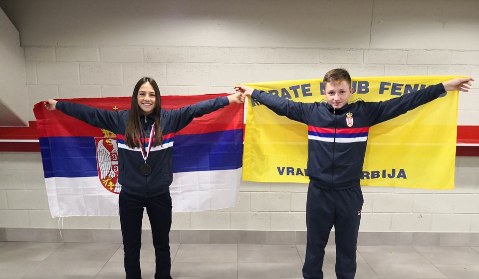 Staša Stošić i Bogdan Trajković. Foto Feniks