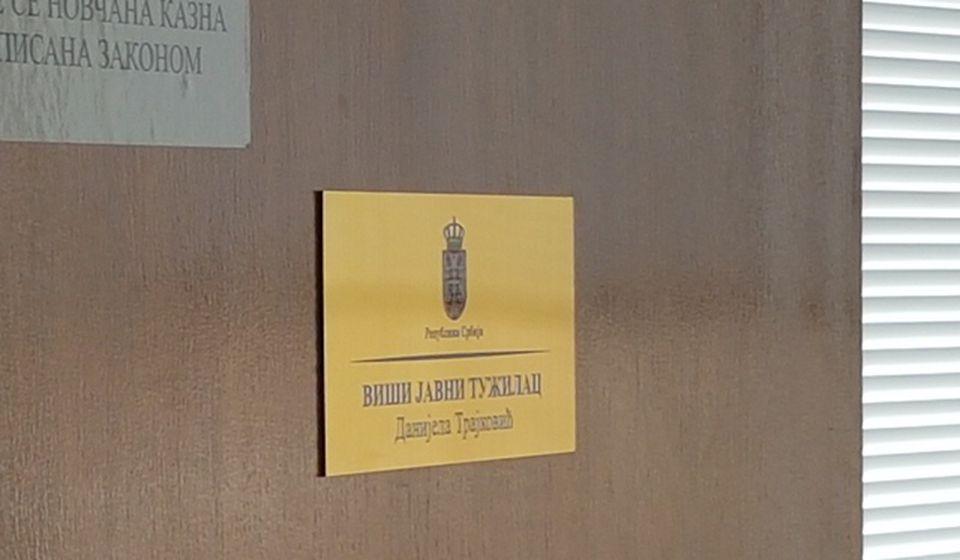 Preduzete su razne dokazne radnje: prostorije VJT. Foto VranjeNews